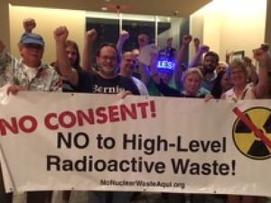 NO to High-Level Radioactive Waste