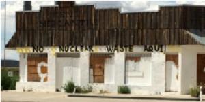 No Nuclear Waste Aqui on home